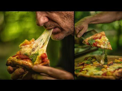 ULTIMATE HAWAII PIZZA - HANDMADE BUSHCRAFT OVEN