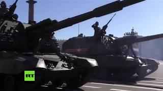 Veteranen bei Siegesparade am Roten Platz: Wo hat Sie die Nachricht vom Kriegsende erreicht?