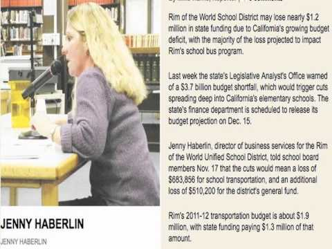 CAFR SCHOOL: School Districts And The Lottery