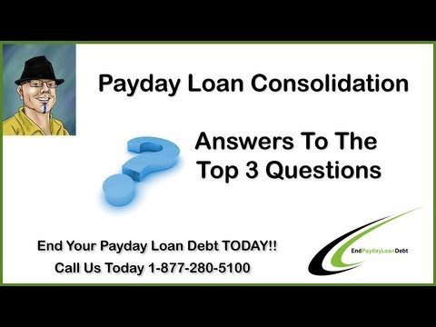 Payday Loan Consolidation from YouTube · Duration:  2 minutes 9 seconds