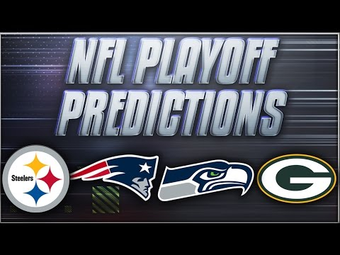 NFL Divisional Round Playoff Predictions! Who's Going To The Superbowl?