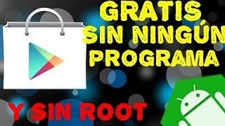 Como comprar cualquier aplicación de play store sin ningún programa o aplicación | Y Sin ROOT thumbnail