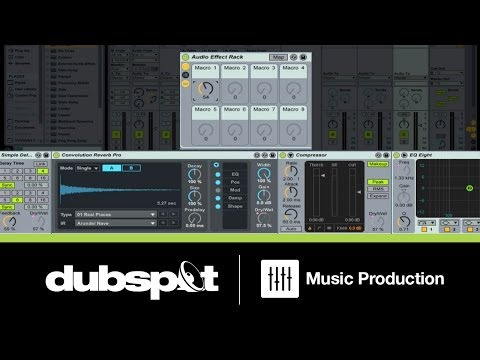 Ableton Live Tutorial: Creating Transition Effects for EDM Tracks
