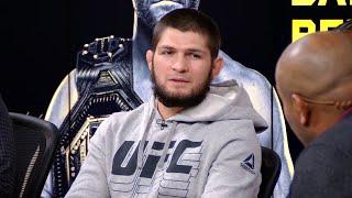 Хабиб Нурмагомедов - Интервью на церемонии взвешивания UFC 260
