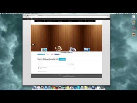 Instalar Gallery Phocabar List En Joomla3