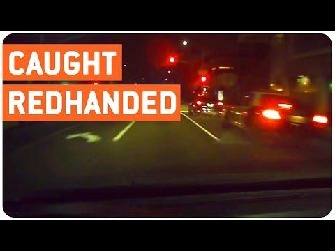 Impatient Driver Runs Red Light   Zero Fs Given