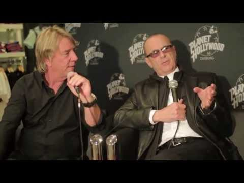 Planet Hollywood Germany - Status Quo Interview 2013 - YouTube