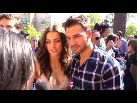 Ryan Guzman & Kathryn McCormick Interview - 2012 Teen Choice Awards