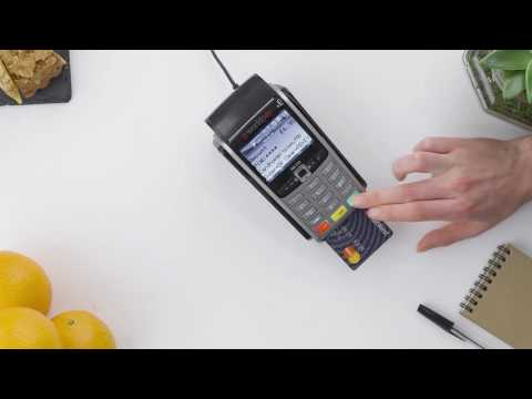 Worldpay Card Machines - How to perform a Sale