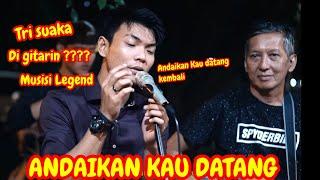 Download Lagu ANDAIKAN KAU DATANG - ERWIN GUTAWA FT RUTH SAHANAYA COVER BY TRI SUAKA mp3