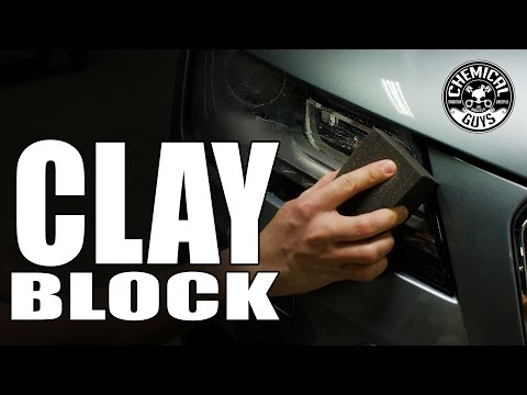 The Clay Block - Better Than Clay Bar! - Chemical Guys - YouTube