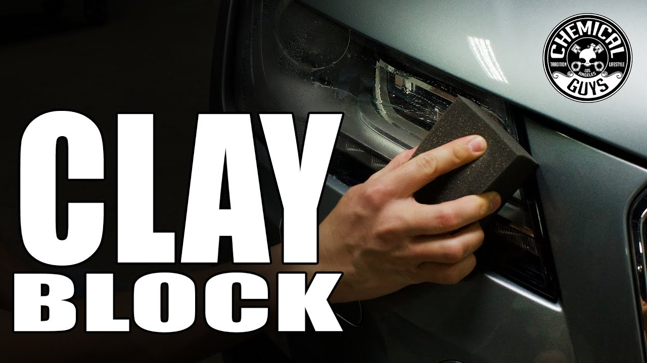 The Clay Block - Better Than Clay Bar! - Chemical Guys