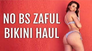 NO BS ZAFUL REVIEW PT 3 AFFORDABLE BIKINI TRY ON HAUL SWIM LOOKBOOK NOT SPONSORED