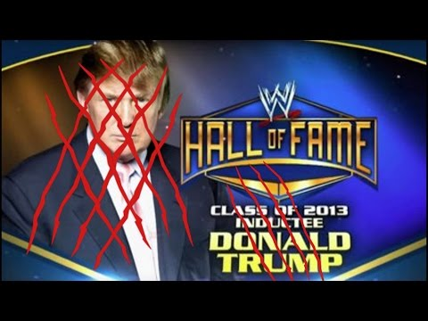 REMOVE TRUMP FROM THE WWE HALL OF FAME?