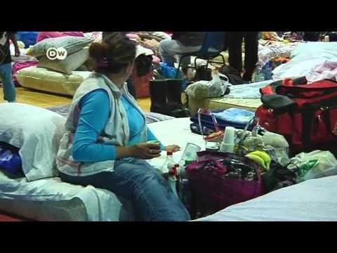 Balkan floods raise health concerns and threaten power supplies