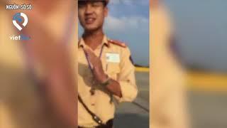 Tài xế vach mặt nhóm CSGT trên cao tốc Hà Nội   Hải Phòng