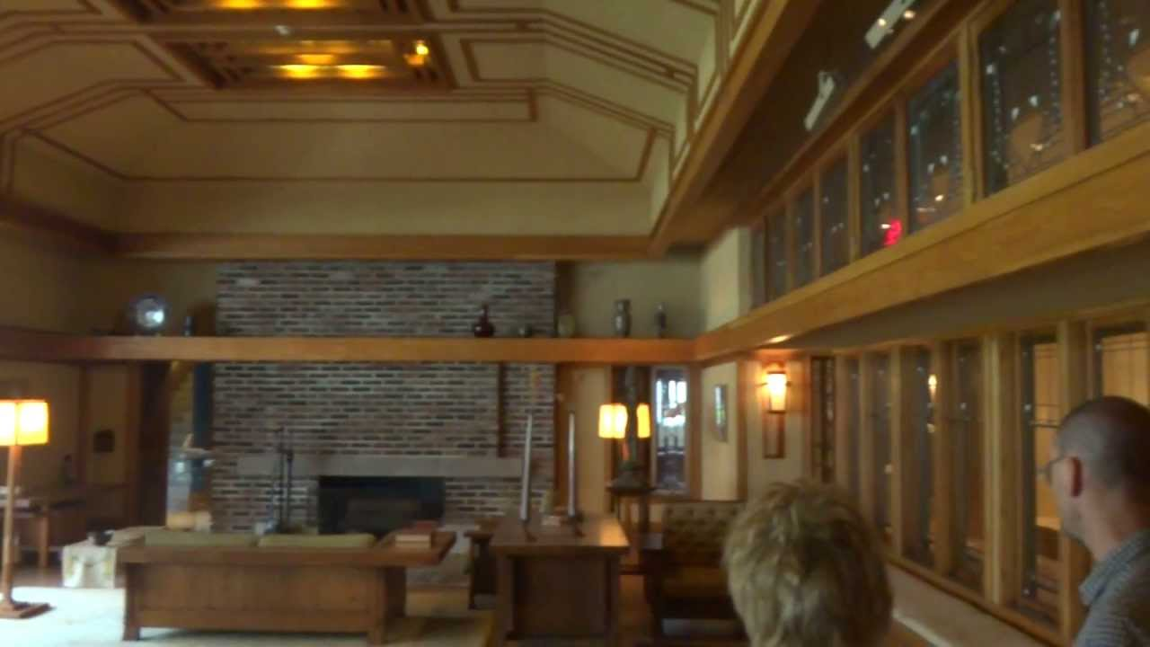 Frank Lloyd Wright: Living Room From The Little House, Wayzata, Minnesota Part 43