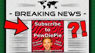 The PewDiePie Newspaper Ad (I Advertised Him)