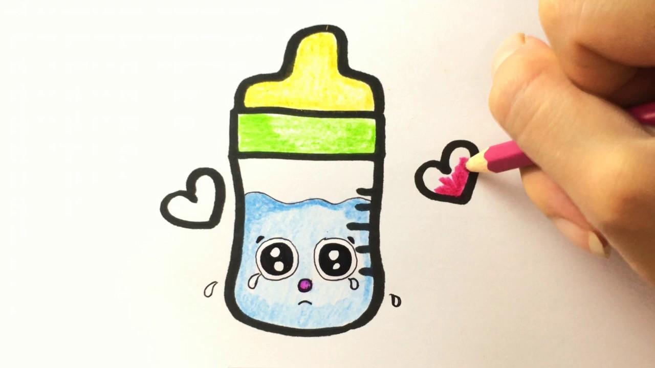 Cara Menggambar Botol Susu Belajar Menggambar Untuk Anak