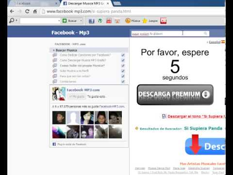 Como subir audio MP3 al facebook
