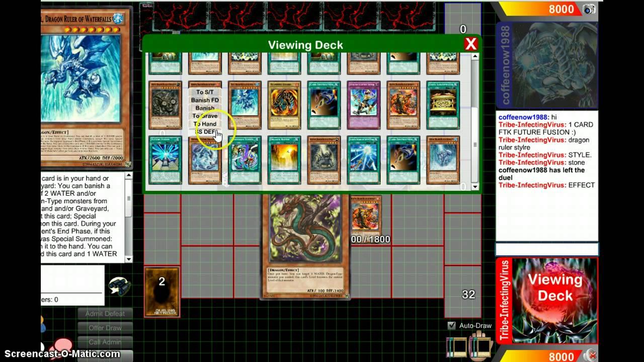 Bannedbos #0 1 Card Otk  Future Fusion ( Dragon Ruler Style)
