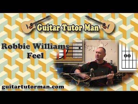 Feel - Robbie Williams - Acoustic Guitar Lesson