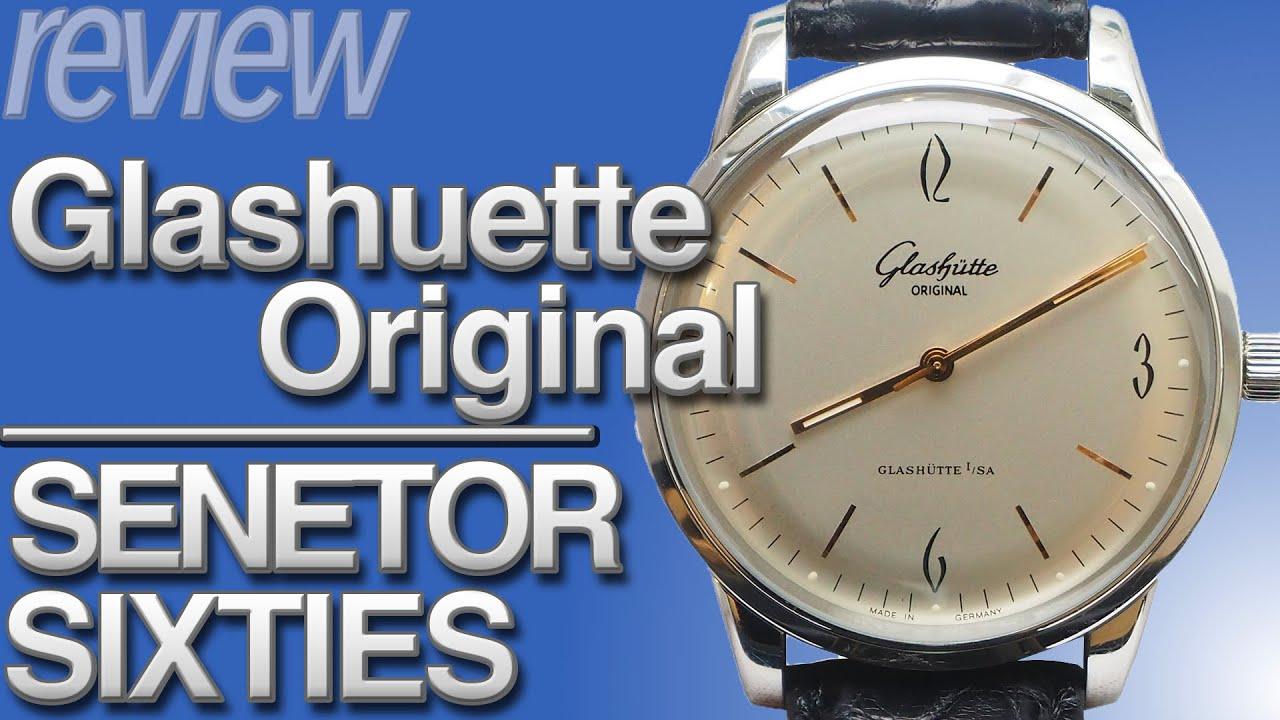 ドイツ時計 グラスヒュッテオリジナル セネタ シックスティーズ 実機レビュー!Glashuette Original SENETOR SIXTIES