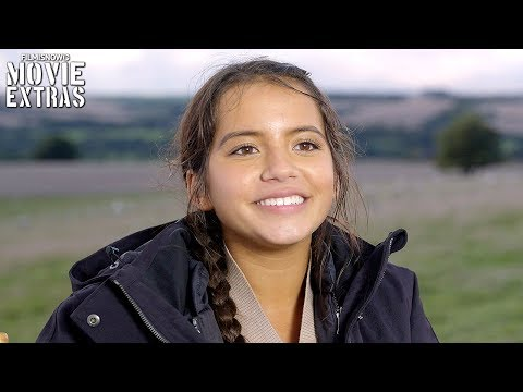 Transformers: The Last Knight | On-set visit with Isabela Moner 'Izabella'