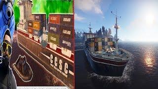 Rust Survival , Efsane Gemi Lootu ilk Çıkış / Rust Emek