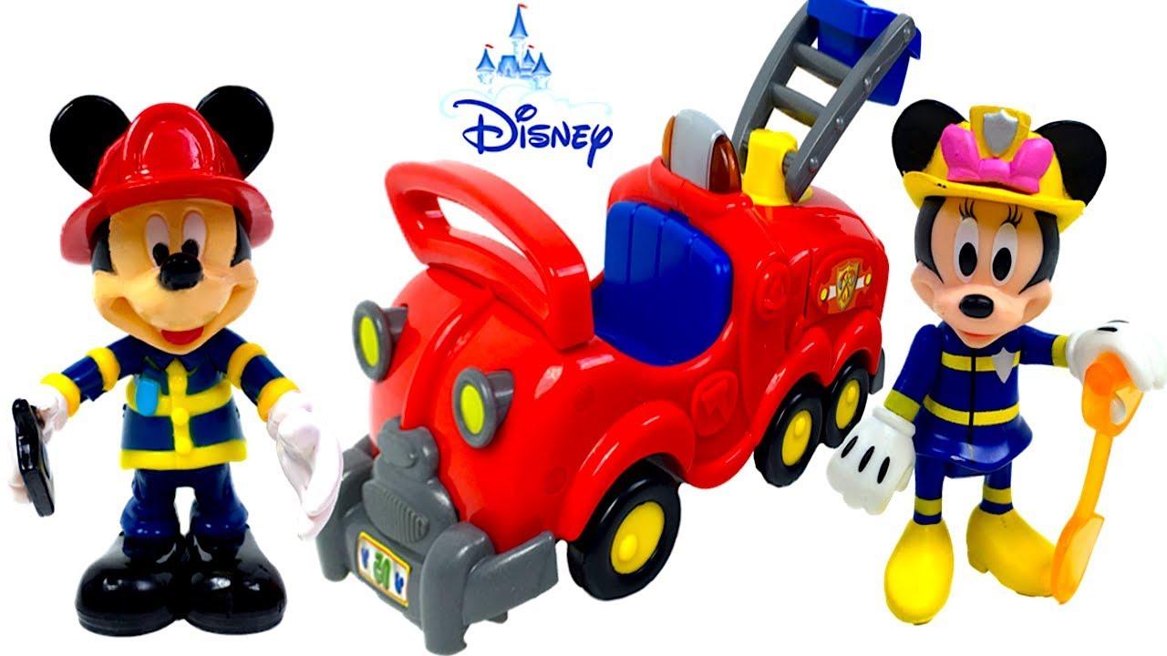 Mouse Sonidos Y Bombero Que Con Peor El Camion Existe Mickey De Luces Minnie Bomberos ARjq354cSL