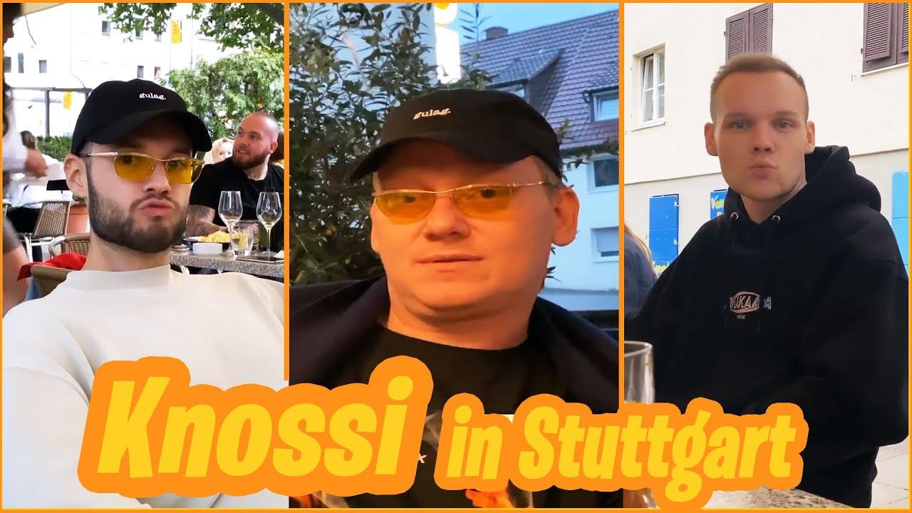KNOSSI mit Sascha und Inscope beim Geburtstag von Shpendi!🎉  Knossi-Stories  