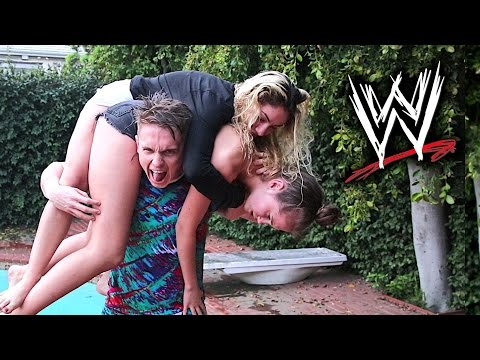 Brutal WWE Moves On Girls 2