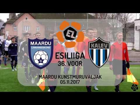 36. voor 2017: Maardu Linnameeskond - JK Tallinna Kalev 2:1 (1:0)