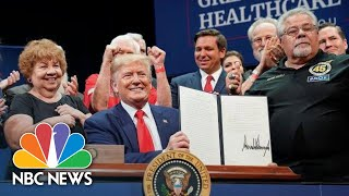 Trump Signs Medicare Executive Order To 'Ensure The World's Best Health Care' | NBC News