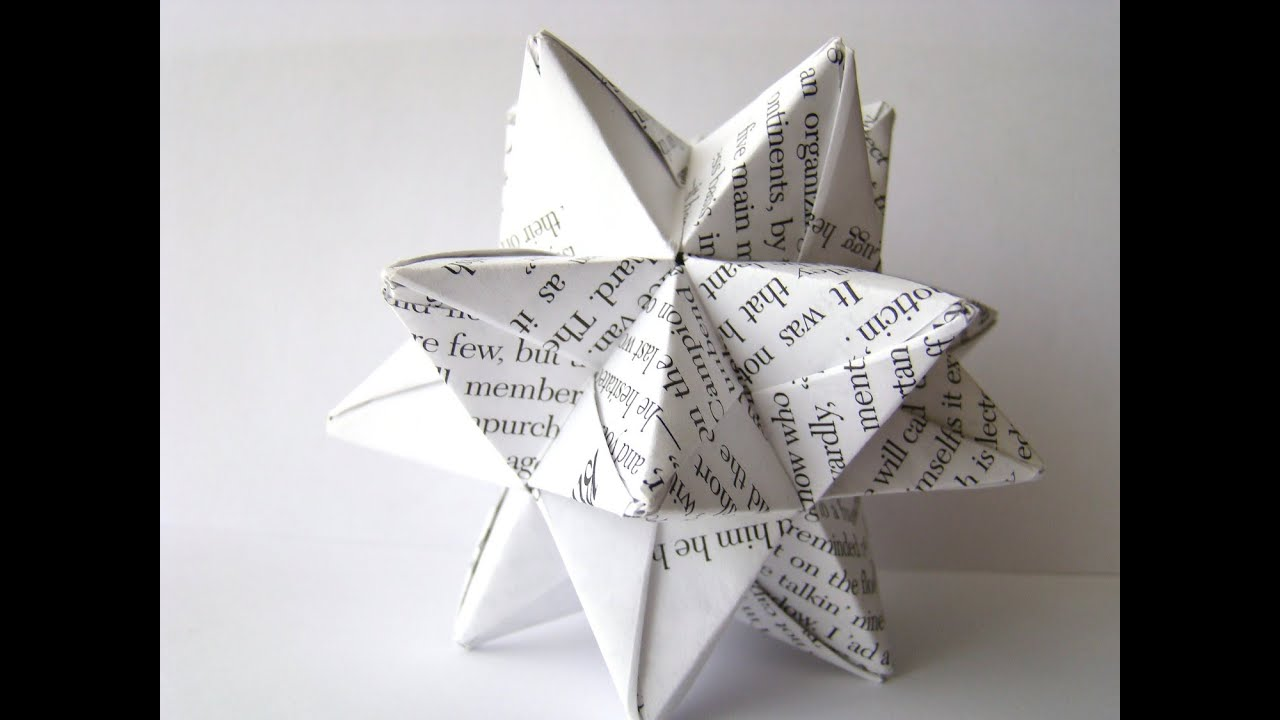 How To Make An Origami Star Ball