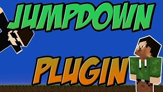 Jump Down Bukkit Plugin Minecraft | 1.8.x Spigot | German| | Tutorial |
