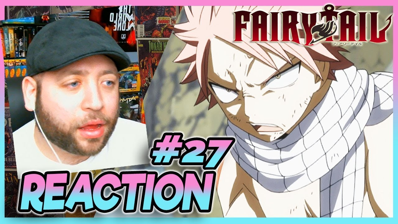 """Download FAIRY TAIL Episode 27 REACTION """"The Two Dragon Slayers"""""""