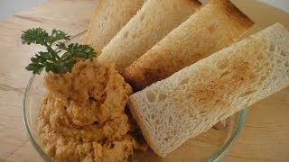 Garlic And Sundried Tomato Hummus | Sanjeev Kapoor Khazana