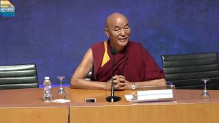 Cómo ser feliz en el día a día, Venerable Thubten Wangchen - OAFICONGRESS18 screenshot 3