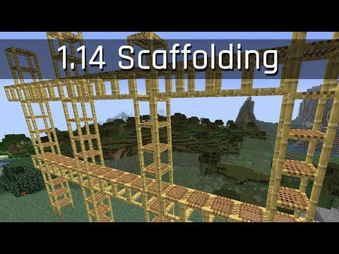 Scaffolding: Impressions and Suggestions | Minecraft 1.14