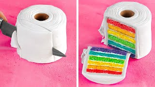 TOILET PAPER CAKE || Jaw-Dropping Dessert Ideas That Look So Real || Cake And Chocolate Recipes