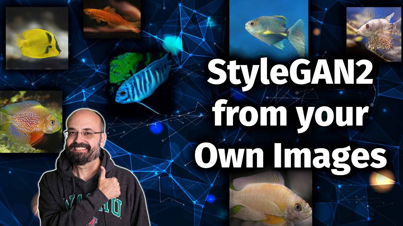 Training a GAN from your Own Images: StyleGAN2 ADA