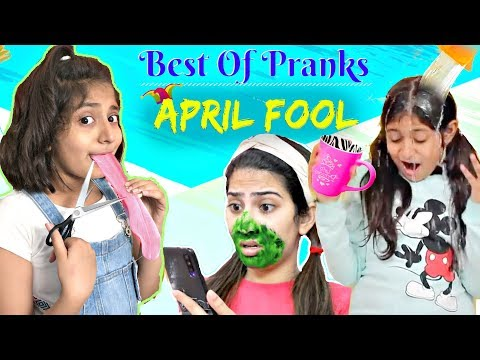 BEST Of PRANKS On SIBLING/FRIENDS | MyMissAnand