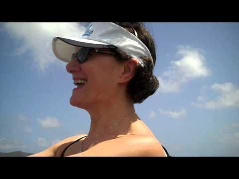 British Virgin Islands aboard Al Vento Feb  2016 PART 1