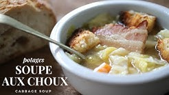 Soupe aux Choux ( cabbage and pork soup) : Easy and healthy French soup for winter