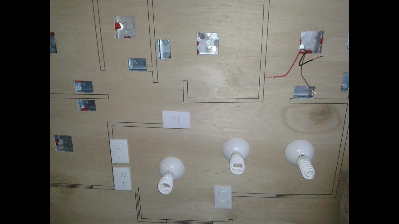 Instalacion electrica de una casa 5 7 instalaciones for Plano instalacion electrica