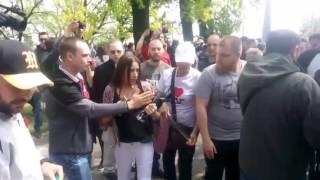 В Одессе произошли столкновения куликовцев с полицией