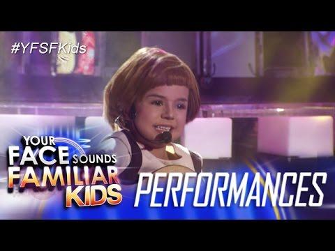 Your Face Sounds Familiar Kids: Xia Vigor as Julie Andrews - Do Re Mi