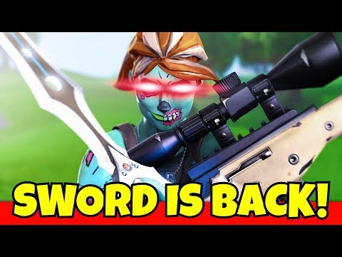 i did this with the sword in fortnite... (omg)