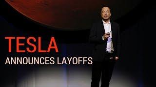 Tesla Announces Major Job Cuts